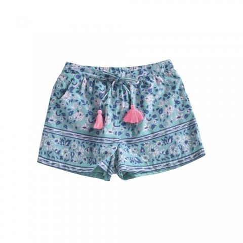【ボトムス】Louise Misha Baby Vallaloid Shorts, Emerald Flower