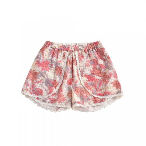 【40%OFF】【ボトムス】Louise Misha Baby Velinda Shorts, Pink Flowers