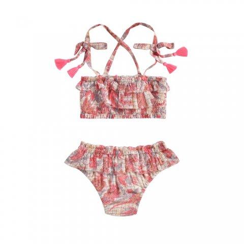 【スイムウェア】Louise Misha Mapimi Bikini, Pink Flowers