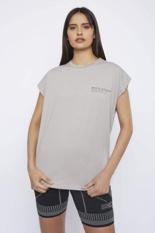WHYTE STUDIO THE'NO LIMIT'T-SHIRT, Nude