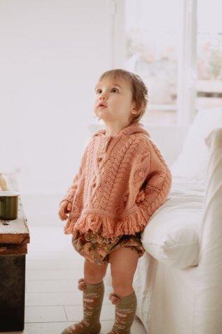 【40%OFF】【ニットポンチョ】Louise Misha Baby Lili Mantle, Sienna