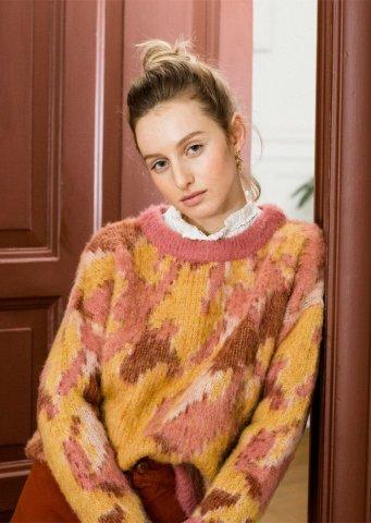 【ニットトップス】Louise Misha Womens Samuel Jumper, Sienna