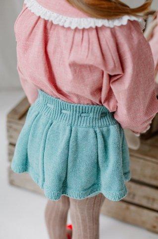 【ボトムス】HAPPYOLOGY Roseleigh Knitted Skort, Pine Green