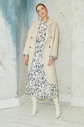 【アウター】JOVONNA DUDETTE COAT-CREAM