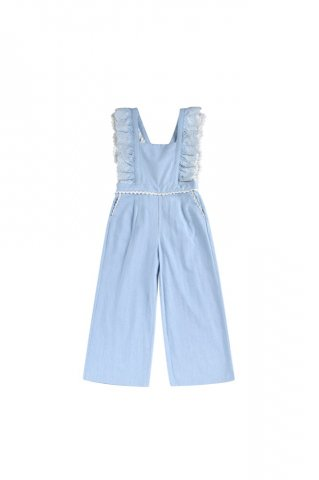 <img class='new_mark_img1' src='https://img.shop-pro.jp/img/new/icons5.gif' style='border:none;display:inline;margin:0px;padding:0px;width:auto;' />Louise Misha Fiorino Overalls, Chambray