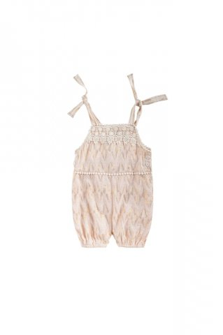 Louise Misha Baby Panolo Overalls, BlushPsyche Lurex