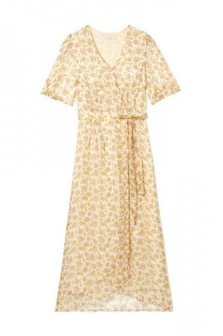 【ワンピース】Louise Misha Womens Steria Dress, BlushFlowers Lurex