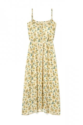 【ワンピース】Louise Misha Womens Chamane Dress, Cream Flowers
