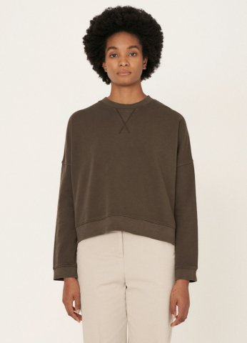【スエット】YMC ALMOST GROWN SWEATSHIRT, DarkOlive