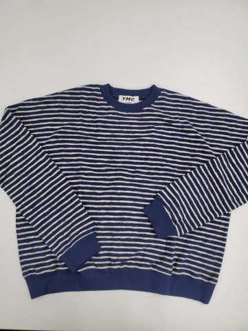 【スエット】YMC ALMOST GROWN SWEATSHIRT, Navy
