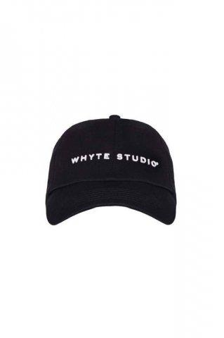 【キャップ】WHYTE STUDIO Hacker Cap, Black
