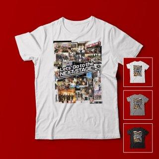 エヴェッサコラージュ<br />メンズTシャツ<br />【木下博之引退記念グッズ公式オンラインSHOP】