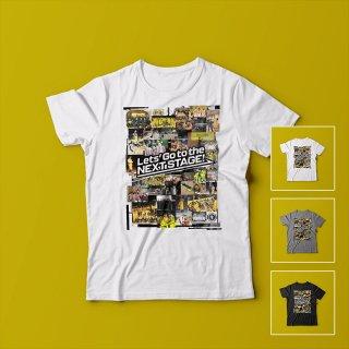 日立&トライアンズコラージュ<br />メンズTシャツ<br />【木下博之引退記念グッズ公式オンラインSHOP】