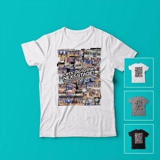 フレンドリーマッチコラージュ<br />メンズTシャツ<br />【木下博之引退記念グッズ公式オンラインSHOP】