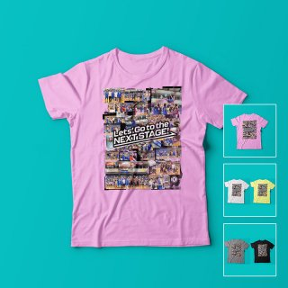 フレンドリーマッチコラージュ<br />レディースTシャツ<br />【木下博之引退記念グッズ公式オンラインSHOP】