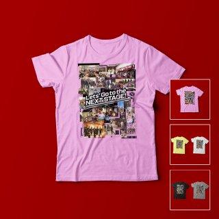 エヴェッサコラージュ<br />レディースTシャツ<br />【木下博之引退記念グッズ公式オンラインSHOP】