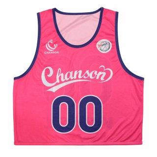 シャンソン化粧品 シャンソンVマジック ビブス ■2019-20Wリーグ公式グッズ■