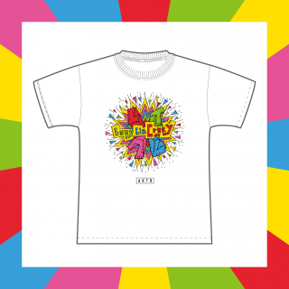レイクレTシャツ(白/ホワイト)|2020 SUMMER グッズ|Lazy Lie Crazy【レイクレ】 オリジナルグッズ