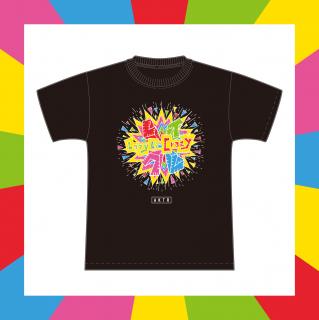 レイクレTシャツ(黒)|2020 SUMMER グッズ|Lazy Lie Crazy【レイクレ】 オリジナルグッズ