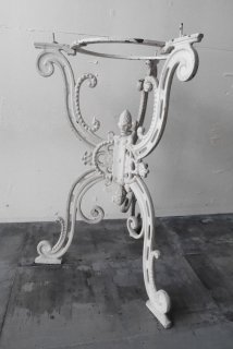 Cast iron table leg
