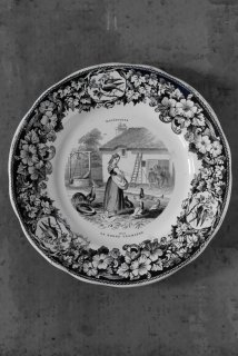 Grisaille plate (No12)