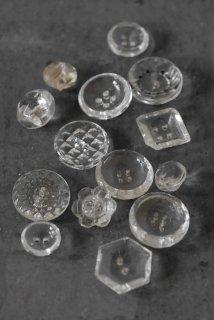14 glass boutons