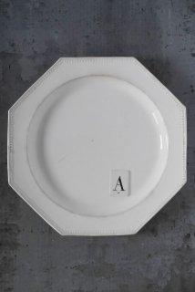 Octogonal plate (A)