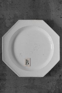 Octogonal plate (B)