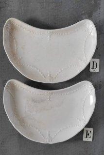 Assiette croissant D.E
