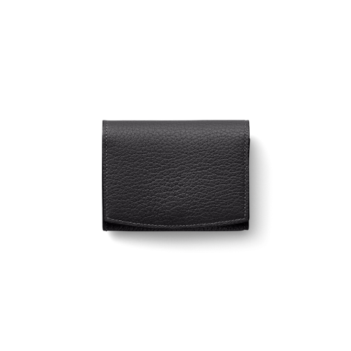 New Credit Card Coin Case2<br>French Crisp Calf×Lamb<br>Black×New Grey