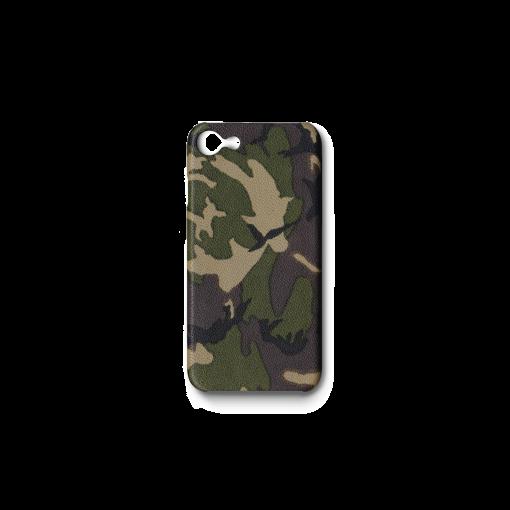 iPhone 7, 8 & SE Case<br>Camouflage Goat<br>Dark Natural