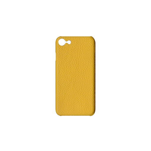 iPhone 7, 8 & SE Case<br>German Shrunken Calf<br>Yellow