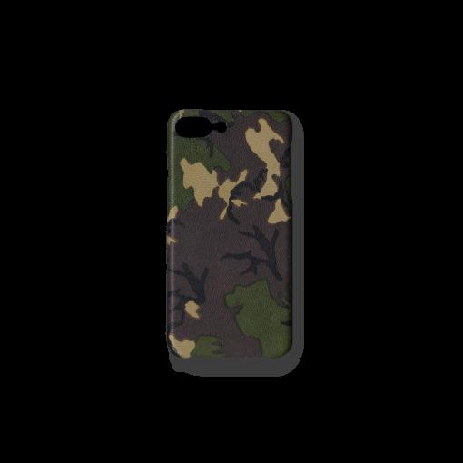 iPhone 7Plus&8Plus Case<br>Camouflage Goat<br>Dark Natural