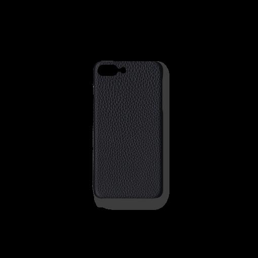 iPhone 7Plus&8Plus Case<br>German Shrunken Calf<br>Black
