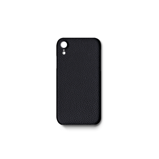 iPhone XR Case<br>German Shrunken Calf<br>Black