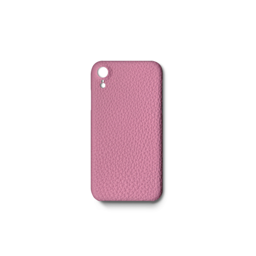 iPhone XR Case<br>German Shrunken Calf<br>Pink