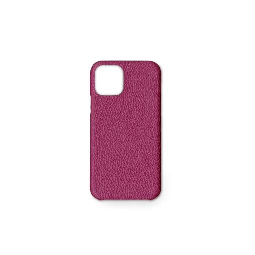 iPhone 11 Pro Case<br>German Shrunken Calf<br>Indian Pink