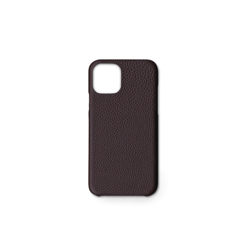 iPhone 11 Pro Case<br>German Shrunken Calf<br>Chocolate