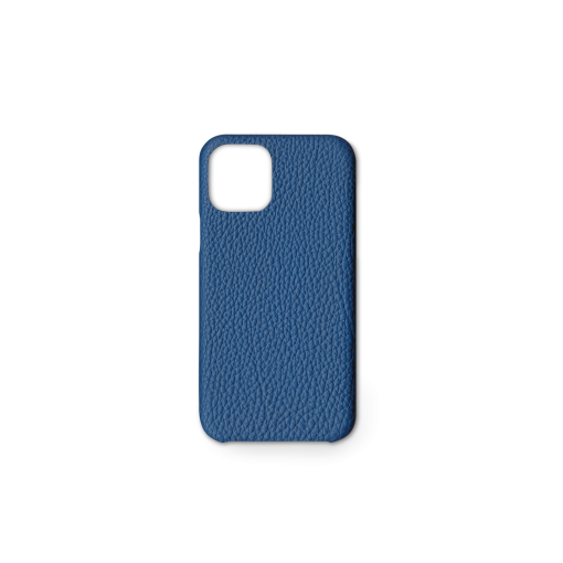 iPhone 11 Pro Case<br>German Shrunken Calf<br>Topaz Blue