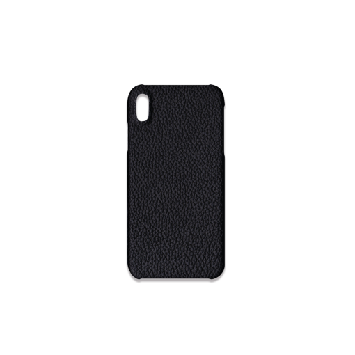 iPhone XS Max Case<br>German Shrunken Calf<br>Black