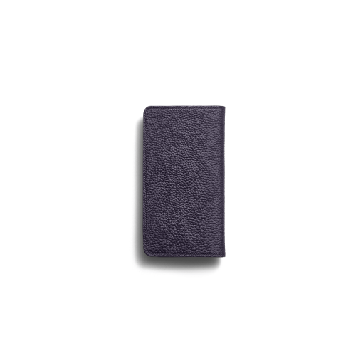 iPhone 7Plus&8Plus Combo Case<br>German Shrunken Calf×Goat<br>Midnight Blue×Midnight Blue