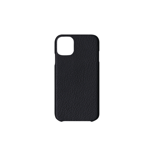 iPhone 11 Case<br>French Crisp Calf<br>Black