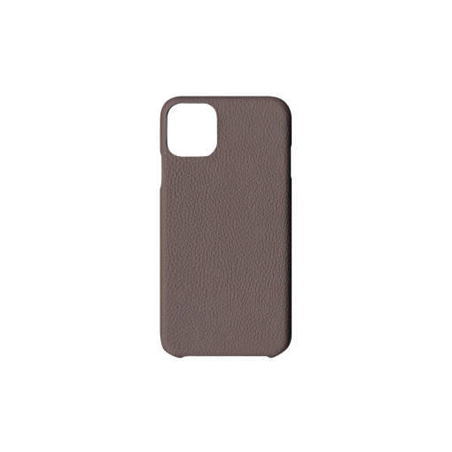iPhone 11 Pro Max Case<br>German Shrunken Calf<br>Tortora