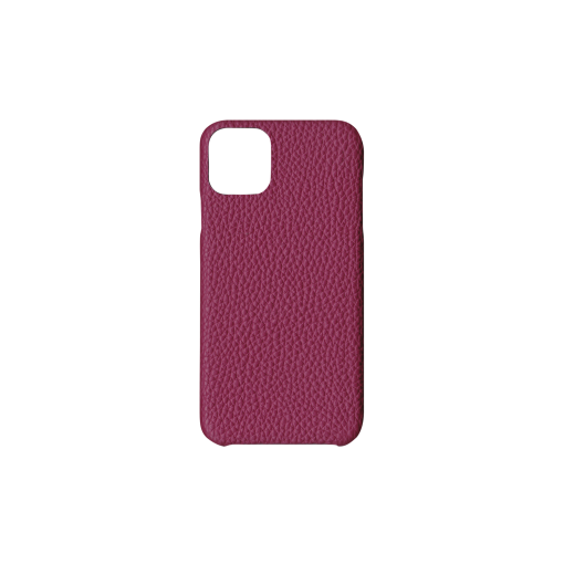 iPhone 11 Pro Max Case<br>German Shrunken Calf<br>Indian Pink