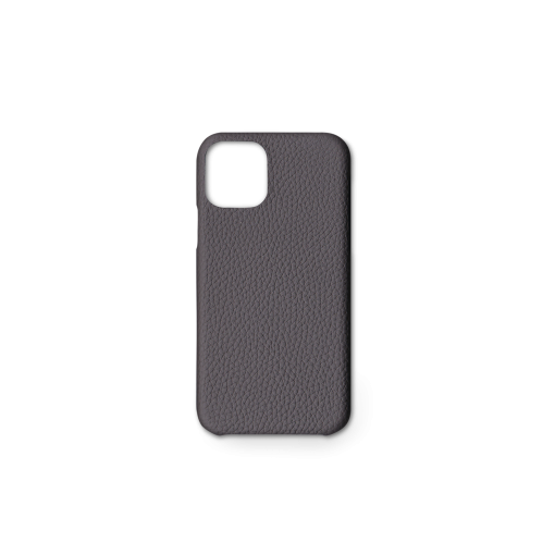 iPhone 11 Pro Max Case<br>German Shrunken Calf<br>Titanium