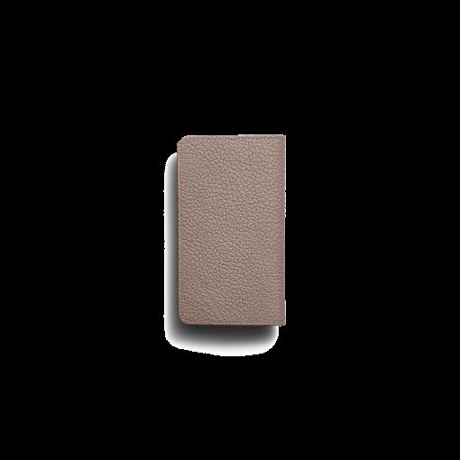 iPhone 11 Combo Case<br>German Shrunken Calf×Lamb<br>Tortora×Turquoise