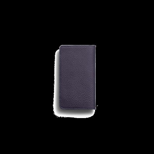 iPhone 11 Combo Case<br>German Shrunken Calf×Lamb<br>Midnight Blue×Midnight Blue