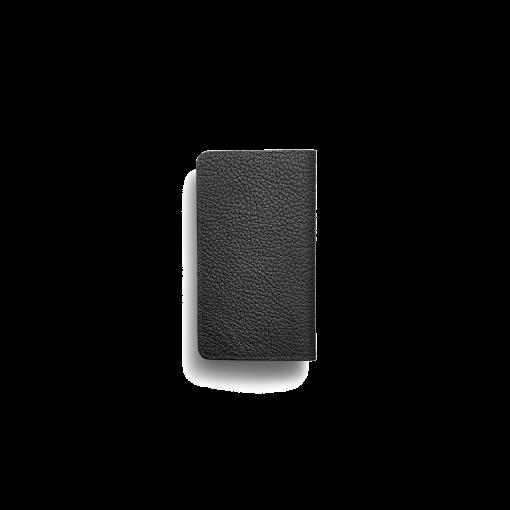 iPhone 11 Pro Max Combo Case<br>German Shrunken Calf×Lamb<br>Black×New Grey