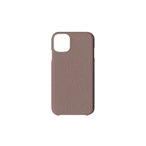 iPhone 11 Case<br>German Shrunken Calf<br>Tortora
