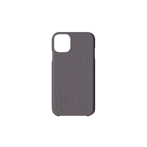 iPhone 11 Case<br>German Shrunken Calf<br>Titanium